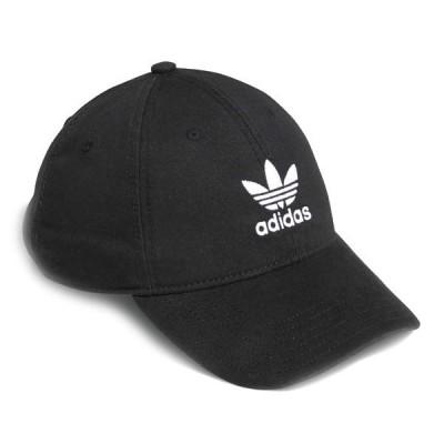 アディダス adidas キャップ 帽子 メンズ レディース オリジナル リラックス ストラップバック Originals RELAXED STRAPBACK BH7137 BLACK ブラック