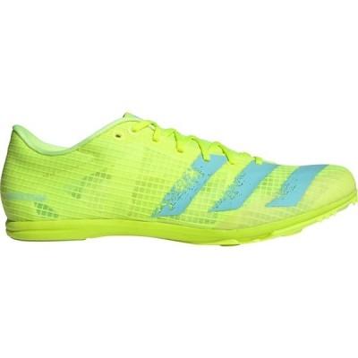 アディダス シューズ レディース 陸上 adidas Distancestar Track and Field Cleats Yellow/Blue