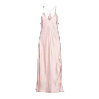 スーベニア SOUVENIR 7分丈ワンピース・ドレス ライトピンク M ポリエステル 100% 7分丈ワンピース・ドレス