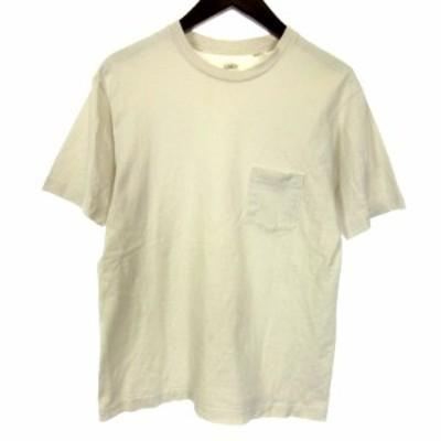 【中古】アナトミカ ANATOMICA Tシャツ カットソー 半袖 胸ポケット S 白 ホワイト /HZ1 メンズ