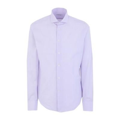 ブライアン デールズ BRIAN DALES シャツ ライラック 40 コットン 100% シャツ