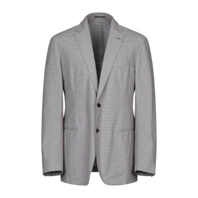 PIOMBO テーラードジャケット ココア 52 コットン 100% テーラードジャケット