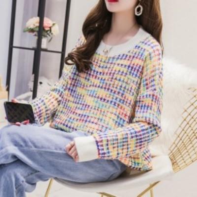 オルチャン服 オルチャン ファッション 韓国 レディースファッション ニット セーター レディース 大きいサイズ セーターニット 可愛い