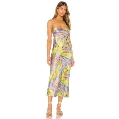 フリンスカイ FLYNN SKYE レディース ワンピース スリップドレス ワンピース・ドレス Jackie Slip Dress Spiral Mist
