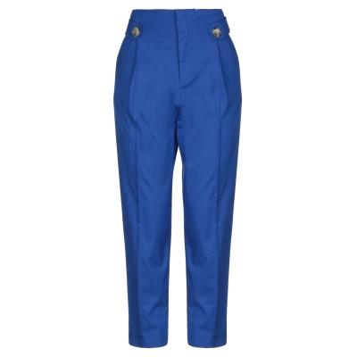 MARIUCCIA パンツ ブライトブルー S コットン 95% / ポリウレタン 5% パンツ