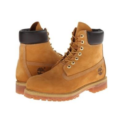 ティンバーランド Timberland メンズ ブーツ シューズ・靴 6' Premium Waterproof Boot Wheat Nubuck Leather