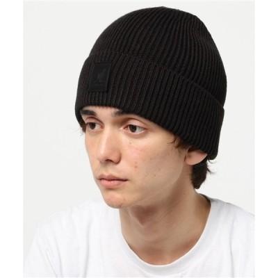 帽子 キャップ カンゴール ニット帽 ビーニー パッチ KANGOL