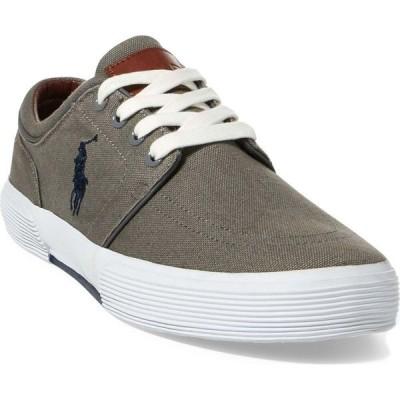 ラルフ ローレン POLO RALPH LAUREN メンズ スニーカー シューズ・靴 Faxon Sneaker Grey Canvas