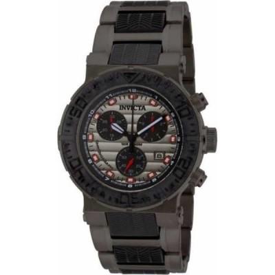 腕時計 インヴィクタ Invicta メンズ オーシャン Reef ガンメタルETA G10 クロノグラフ 腕時計