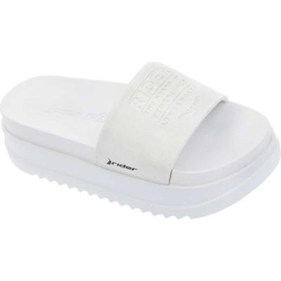 ライダー サンダル シューズ レディース Power Up Plat Slide (Women's) Pearl White
