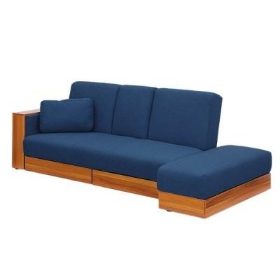 ソファベッド ソファーベッド シングル ソファー ソファ 三人掛け 収納付き 収納式サイドテーブル付き ROME4(ローマ4) 6色対応