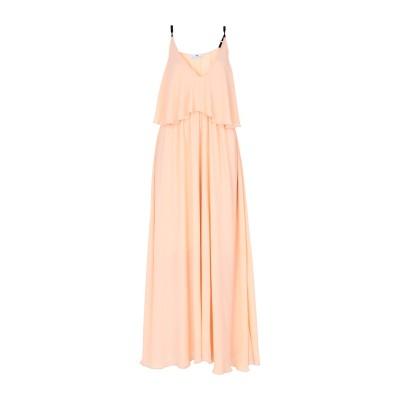 マッシモ レベッキ MASSIMO REBECCHI ロングワンピース&ドレス サーモンピンク 46 ポリエステル 100% ロングワンピース&ドレス