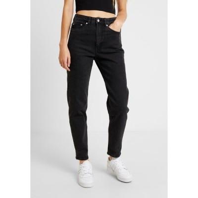 ウィークデイ デニムパンツ レディース ボトムス LASH  - Relaxed fit jeans - echo black