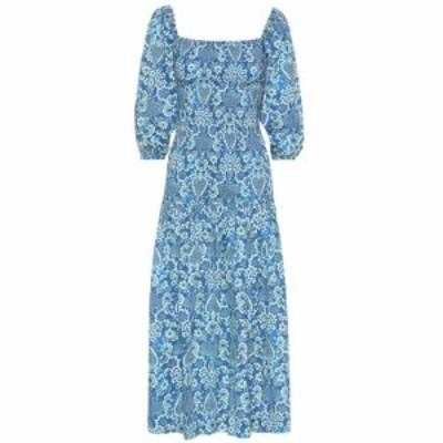 ロードリゾート RHODE レディース ワンピース ワンピース・ドレス Harper printed cotton midi dress Med Tapestry