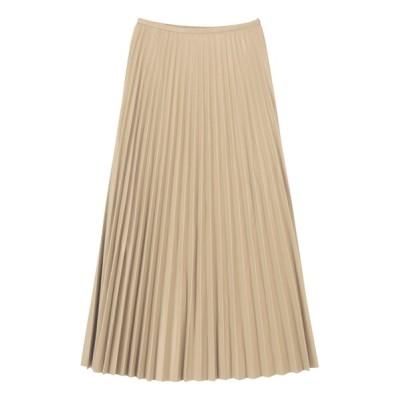 ur's / フェイクレザープリーツスカート WOMEN スカート > スカート
