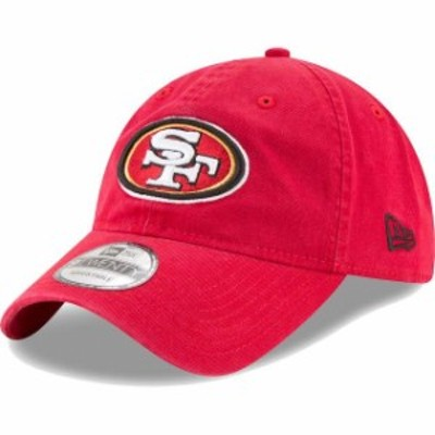 New Era ニュー エラ スポーツ用品  New Era San Francisco 49ers Scarlet Core Classic 9TWENTY Adjustable Hat