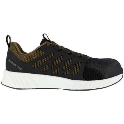 リーボック メンズ ブーツ・レインブーツ シューズ Fusion Flexweave Composite Toe ESD Shoes