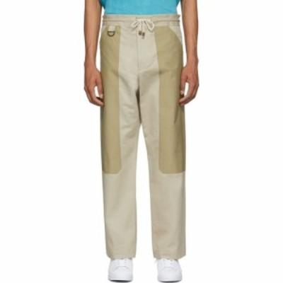 ニコラス デイリー Nicholas Daley メンズ ボトムス・パンツ tan panelled pullcord trousers Beige