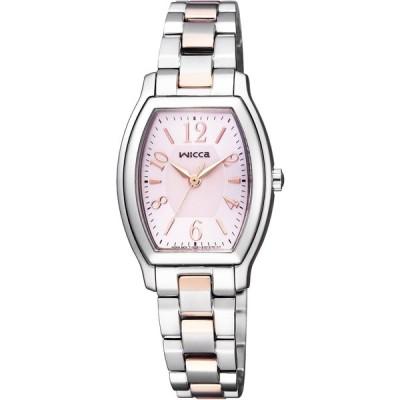 [シチズン]CITIZEN 腕時計 wicca ウィッカ ソーラーテック スタンダード トノー KH8-730-93 レディース