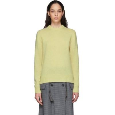 アクネ ストゥディオズ Acne Studios レディース ニット・セーター トップス Yellow Wool Sweater Light yellow