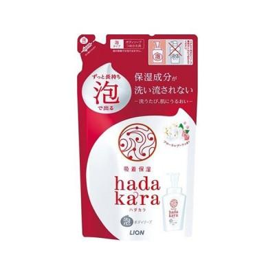 ハダカラ 泡ボディソープ フローラルブーケの香り 詰替 440ml