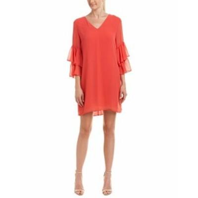 CeCe  ファッション ドレス Cece By Cynthia Steffe Shift Dress 0 Red