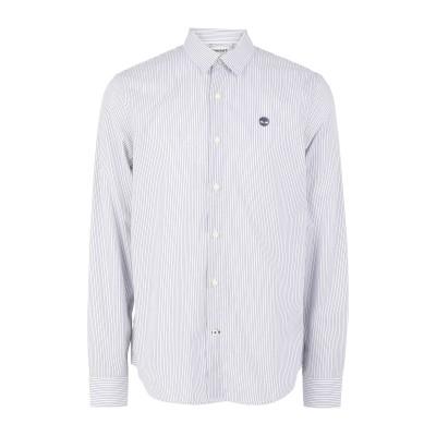 ティンバーランド TIMBERLAND シャツ ホワイト M コットン 100% シャツ