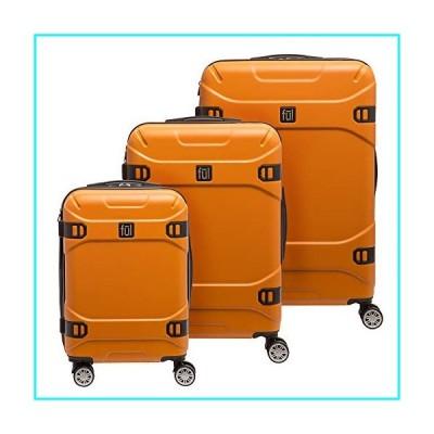 FUL Molded Detail, Orange, 3 Piece Set