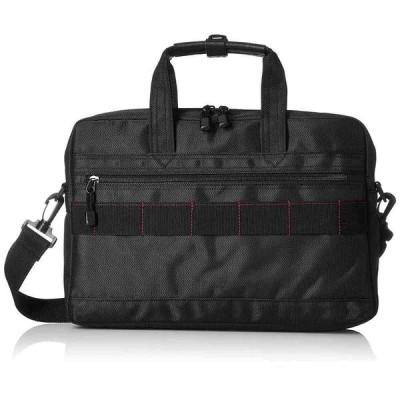 《日常的に使える飽きのこないデザイン》MODE FAS メンズビズネスバッグB5サイズ収納可MF27011ブラック