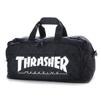 スラッシャー THRASHER 2wayボストンバッグ (ブラック)