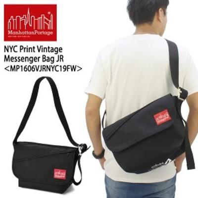 マンハッタン ポーテージ(Manhattan Portage) NYC Print Vintage Messenger Bag JR(MP1606VJRNYC19FW)メッセンジャーバッグ≪M≫[DD]