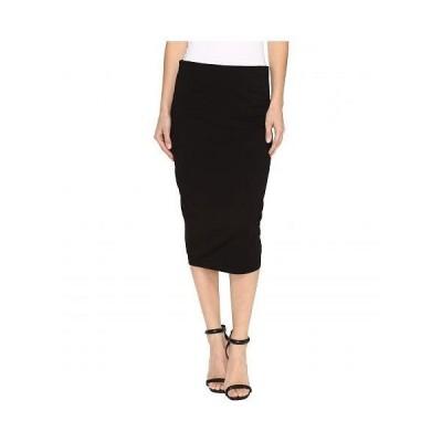 Vince Camuto ヴィンスカムート レディース 女性用 ファッション スカート Midi Tube Skirt - Rich Black