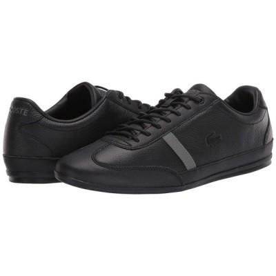 ラコステ Lacoste メンズ スニーカー シューズ・靴 Misano 120 1 P Black/Black