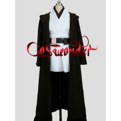 高品質 高級コスプレ衣装 スターウォーズ 風 オビーワン Kenobi ジェダイ タイプ Star Wars Obi-Wan Kenobi Jedi Tunic Costume Ver.3