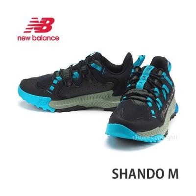 ニューバランス シャンド M NEWBALANCE SHANDO M スニーカー 靴 メンズ シューズ アウトドア タウン SNEAKER MENS カラー:BLACK/BLUE