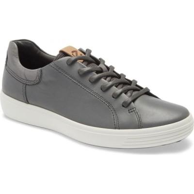 エコー ECCO メンズ スニーカー シューズ・靴 Soft 7 Sneaker Dark Shadow/Magnet/Magnet