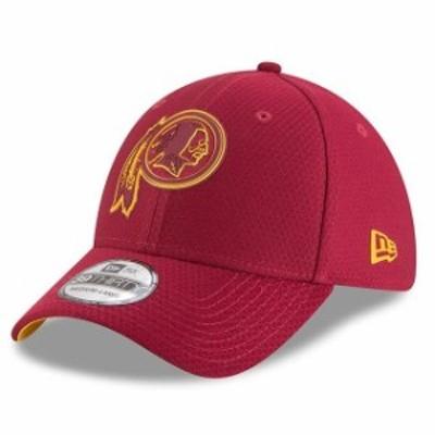 New Era ニュー エラ スポーツ用品  New Era Washington Redskins Burgundy 2018 NFL Training Camp Primary 39THIRTY Flex Hat