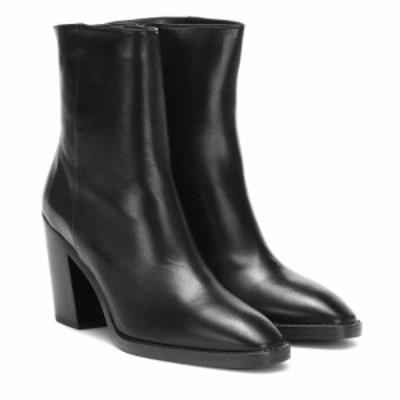 スチュアート ワイツマン Stuart Weitzman レディース ブーツ ショートブーツ シューズ・靴 Wynter leather ankle boots Black