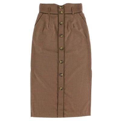 【MURUA】サイドスリットIラインスカート