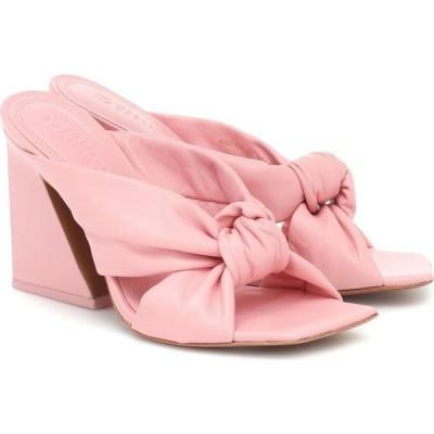 メルセデス カステロ Mercedes Castillo レディース サンダル・ミュール シューズ・靴 nora leather sandals Soft Pink