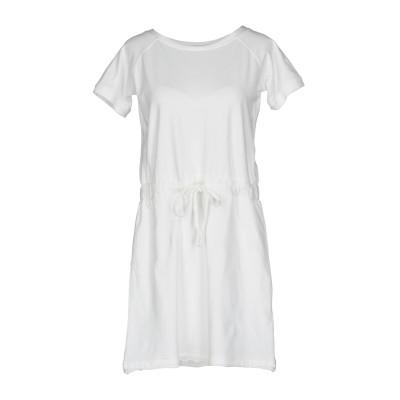 アルファスタジオ ALPHA STUDIO ミニワンピース&ドレス ホワイト 42 コットン 95% / ポリウレタン 5% ミニワンピース&ドレス