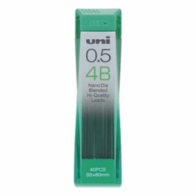 [三菱鉛筆] ユニ(ナノダイヤ) シャープ替芯 0.5mm 4B
