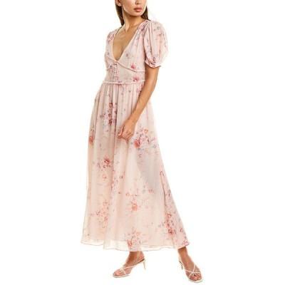 ラブスハックファンシー ワンピース トップス レディース LoveShackFancy Ariel Silk Dress duchess