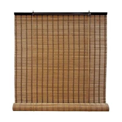 ロールスクリーン 燻製竹 バンブー 1枚 88×135cm ブラウン1