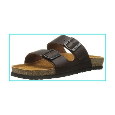 Naot Footwear Women's Santa Barbara Buffalo Leather Sandal 10 M US【並行輸入品】