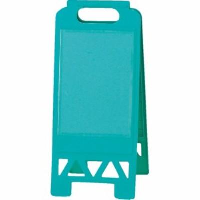 ユニット tr-8263873 フロアユニスタンド 緑 片面ポケット (tr8263873)