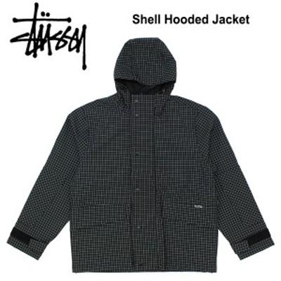 【送料無料】ステューシー(STUSSY) Shell Hooded Jacket ナイロンジャケット /シェルジャケット/アウター/メンズ/男性用[CC]