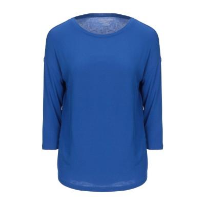 マジェスティック MAJESTIC FILATURES T シャツ ブライトブルー 1 レーヨン 94% / ポリウレタン 6% T シャツ