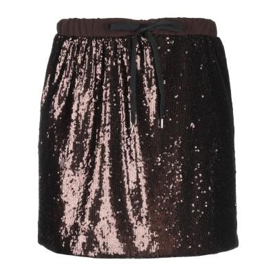 VICOLO ミニスカート ブラウン M ポリエステル 85% / ナイロン 15% ミニスカート