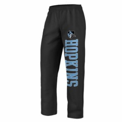 Fanatics Branded ファナティクス ブランド スポーツ用品  Fanatics Branded Johns Hopkins Blue Jays Black Sideblocker Fleece Pants
